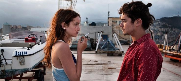 Clara Ponsot and Riccardo Scamarcio in Cosimo and Nicole