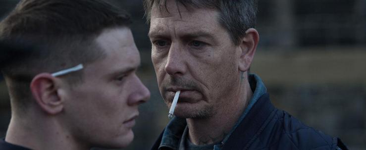 Ben Mendelsohn and Jack O'Connell in David MacKenzie's hard=hitting prison-drama Starred Up